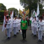 PKB Mendaftar Ke KPU Diiringi Paskibra, Garuda Pancasila dan Barogsai