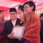 Beri Penghargaan Pejuang Kemanusiaan, Cak Imin: Demokrasi Kita Untuk Kemanusiaan