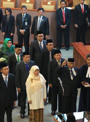Paripurna Lantik 7 Anggota Fraksi PKB