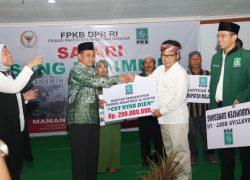 Lestarikan Spirit Cut Nyak Dien: Cak Imin Sumbang 200 juta untuk bangun Ponpes Quran di Sumedang
