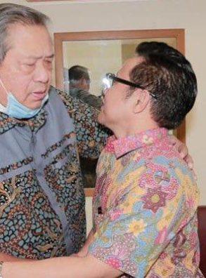 Jenguk Ani Yudhoyono, Cak Imin Doakan Cepat Sembuh Serta Semangati SBY