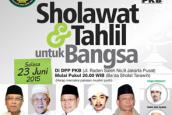 Dua Hari Lagi, PKB Gelar Sholawat dan Tahlil Untuk Bangsa
