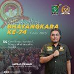 Ucapkan Dirgahayu Bhayangkar, Jazil: Polri harus Bekerja Lebih Gesit